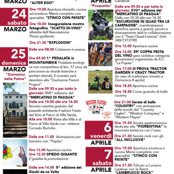 Programma 71^ Festa del Vino